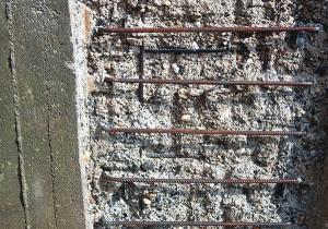 Beton- und Baustahlfreilegung